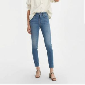 Levis 721 high-rise skinny jeans (size 29)